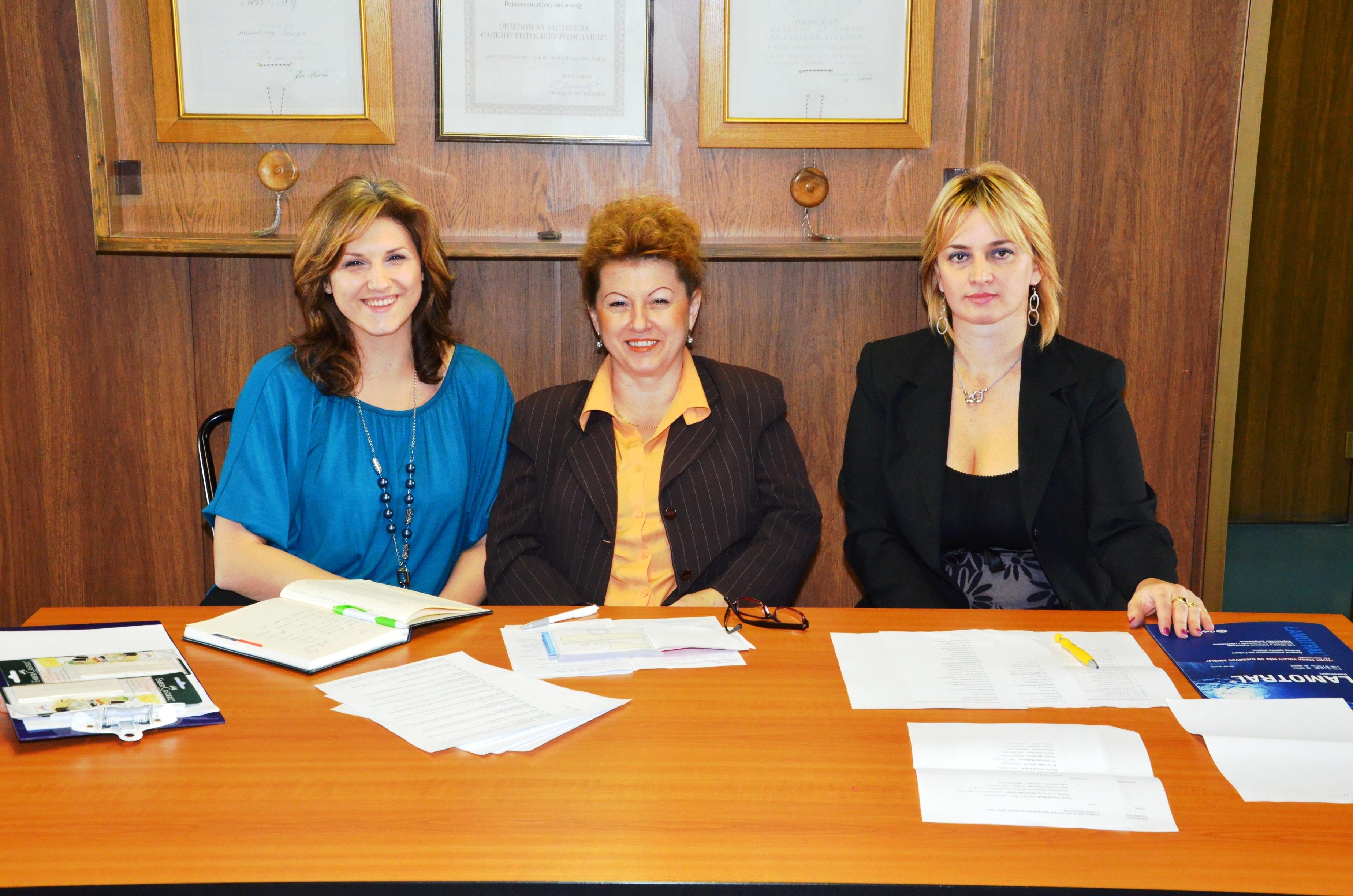Organizacioni odbor: T.Magdić, S.Žuža, S. Pejanović